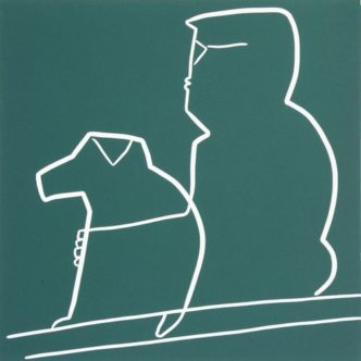 one Man and his dog by Jane Bristowe
