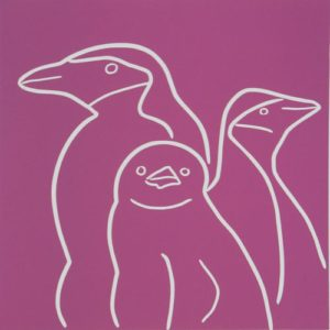 penguin-family by Jane Bristowe