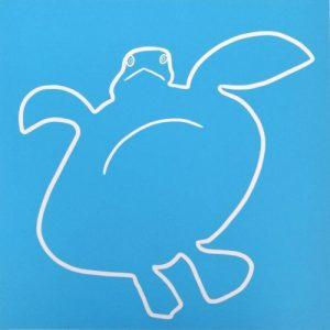 Turtle Spread-eagled
