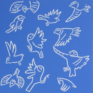 Acrobatic Birds by Jane Bristowe