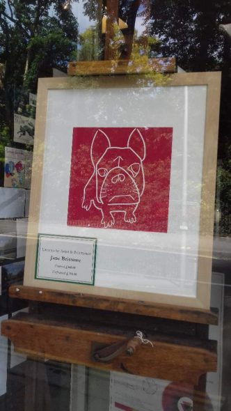 French Bulldog at Green \7 Stone