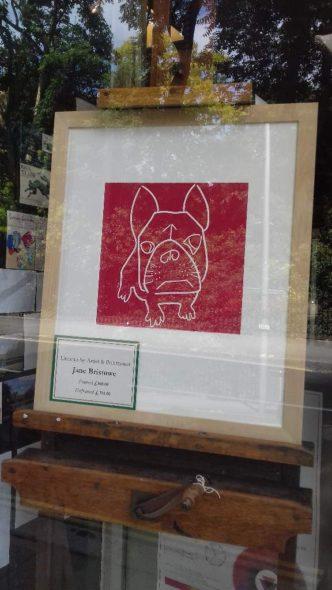 French Bulldog at Green \7 Stone
