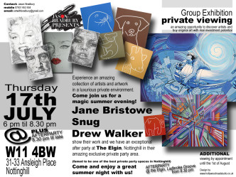Group Exhibition Jane Bristowe at Elgin 17 07 2014