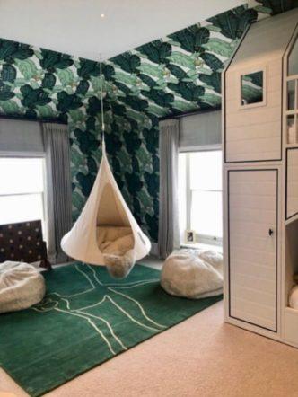 Turner Pocock's children's room jungle theme