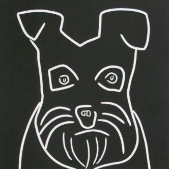 Schnauzer (Terrier) by Jane Bristowe