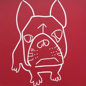 French Bulldog by Jane Bristowe